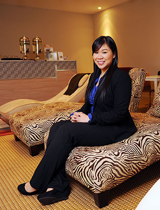 Esthetics Graduate Sally Sue Provides Spa Solutions, Italian Style