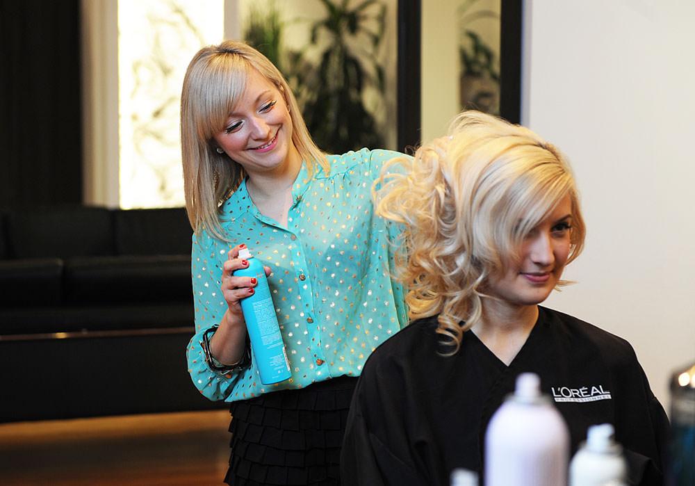 pro hair graduate pamela jacek shapiro of workshop salon hairspray