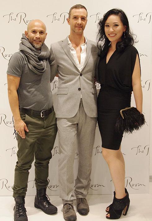 top fashion design graduate wen chee liu with jason matlo