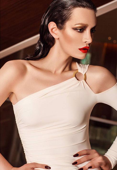 top fashion design graduate wen chee liu white dress jason matlo