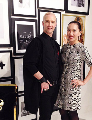 top fashion design graduate wen chee liu and jason matlo