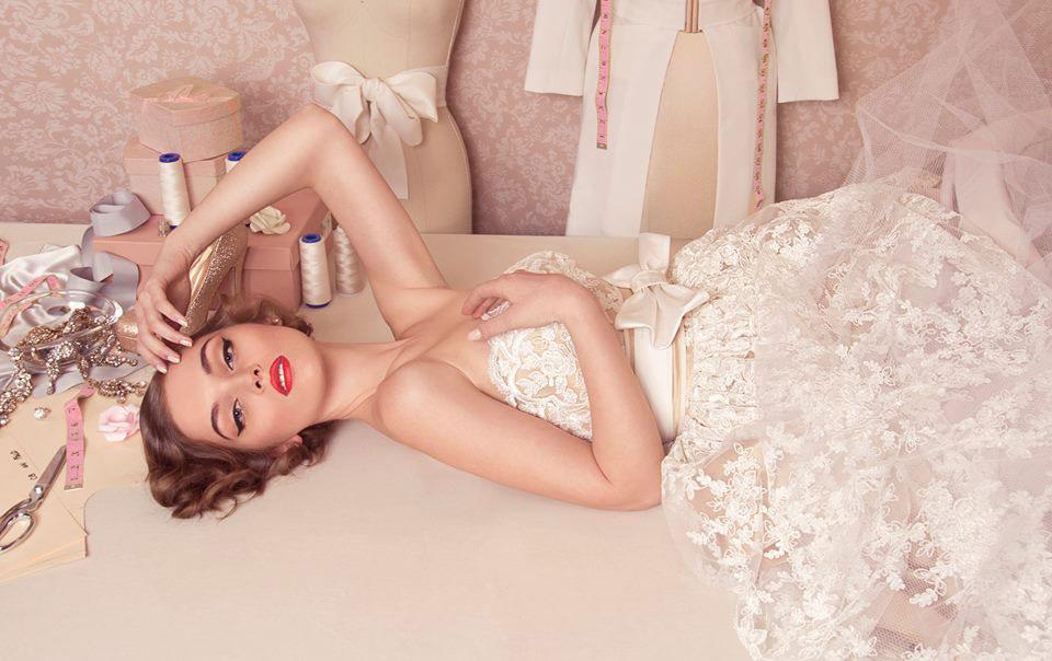 top fashion design graduate wen chee liu bridal fashion