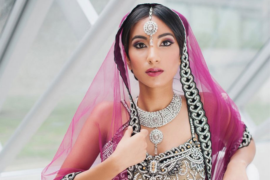 top bridal makeup artist julie brown south asian bride