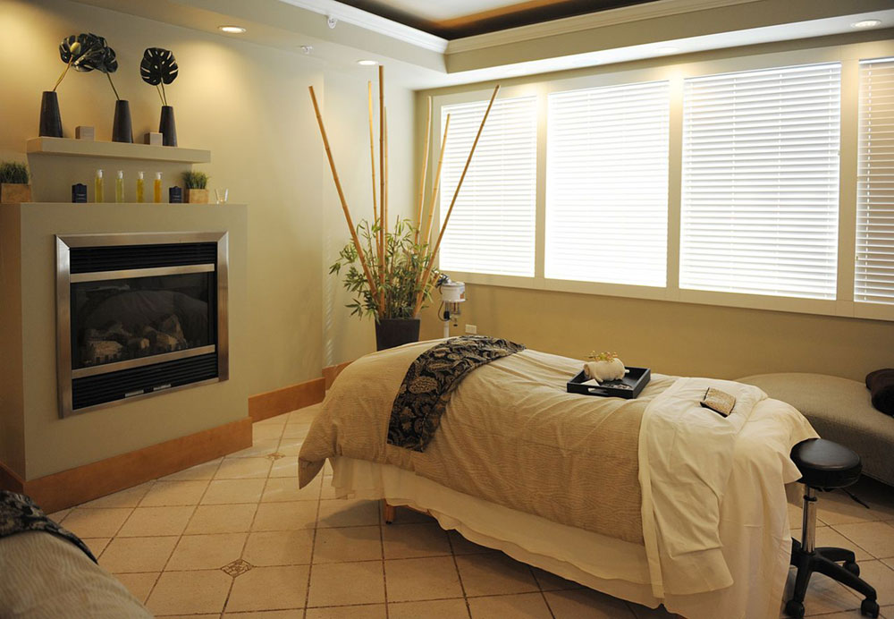 absolute spa treatment room bed