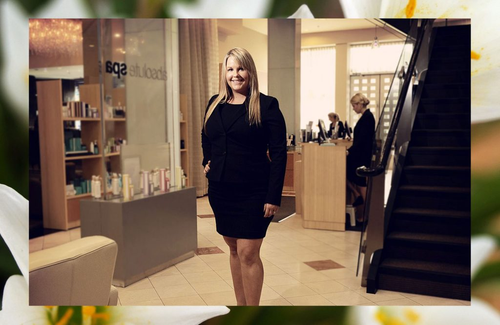 Makeup Graduate Jill Bryan Creates Perfection at Absolute Spa