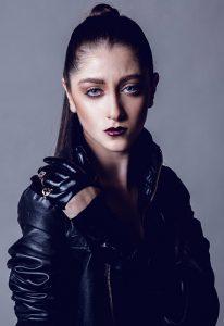 paloma guerard dark lips fashion makeup