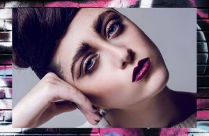 paloma guerard cut crease fashion makeup