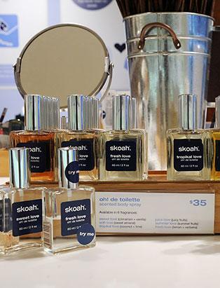 kendra dutchak esthetics graduate skoah fragrances
