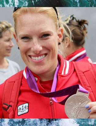 Olympic Medallist Krista Guloien Fashions a New Career at Blanche Macdonald