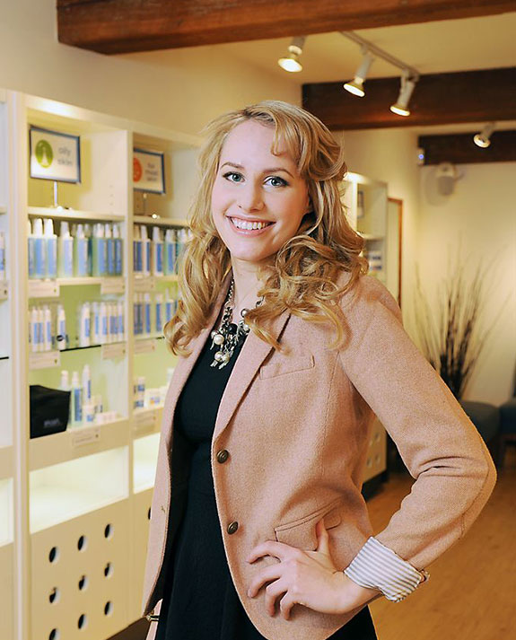 Esthetics Graduate Kendra Dutchak Shines at Skoah