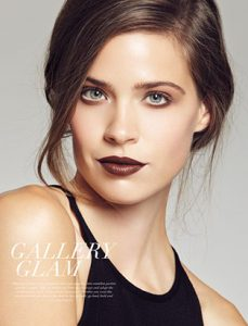 glam holiday makeup by blair petty