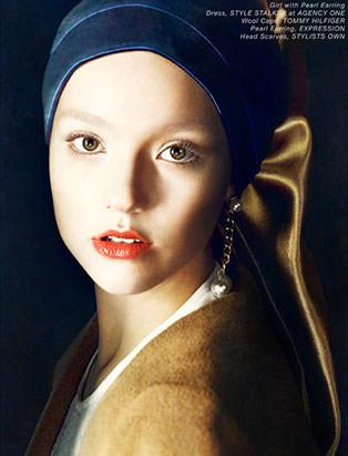 vermeer makeup by blair petty