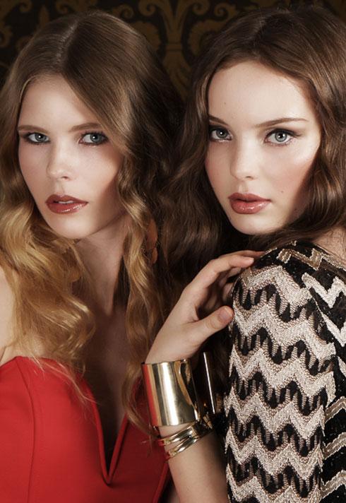 fashion makeup shoot widejko