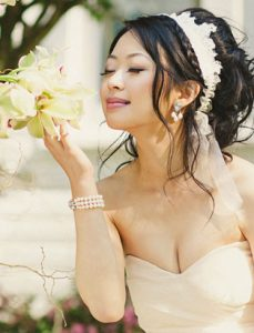 top makeup artist jayna marie wedluxe magazine bridal makeup asian bride with orchids