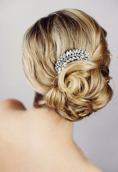 top makeup artist jayna marie blonde bridal updo