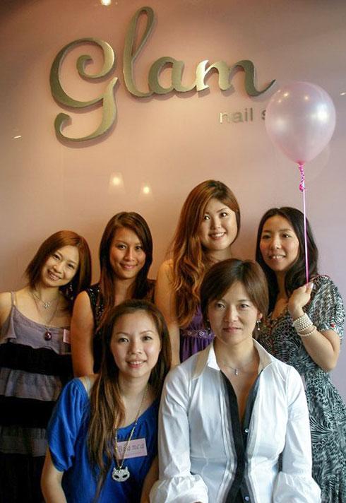 keiko matsui glam nail studio team