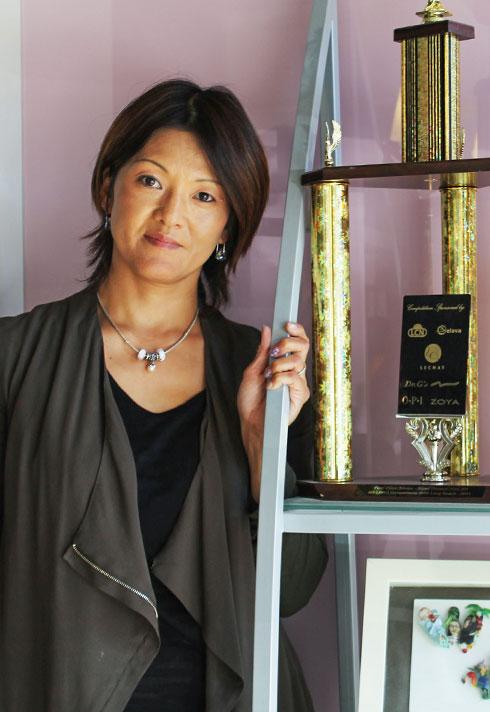 keiko matsui nail salon owner portrait