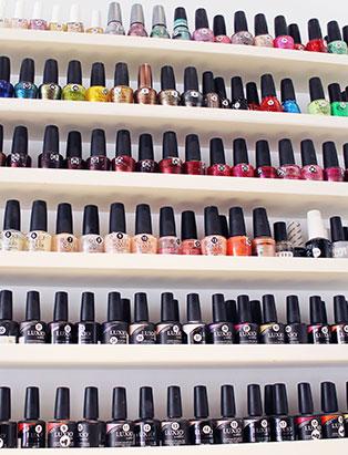 keiko matsui glam nail studio polish bottles