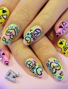 keiko matsui glam nail studio rad hippie nails