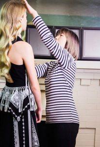 win liu makeup behind the scenes touchup