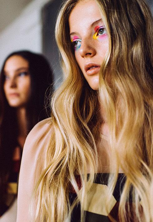 win liu makeup fashion models