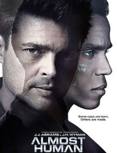 almost human promo poster