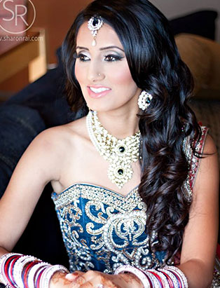 sharon rai bridal makeup bangles