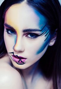 shaina azad top makeup artist graffiti makeup