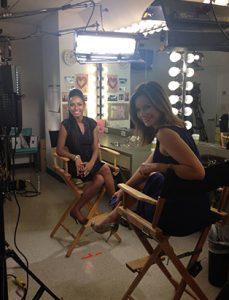 shaina azad top makeup artist on set