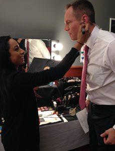 shaina azad top makeup artist news anchor