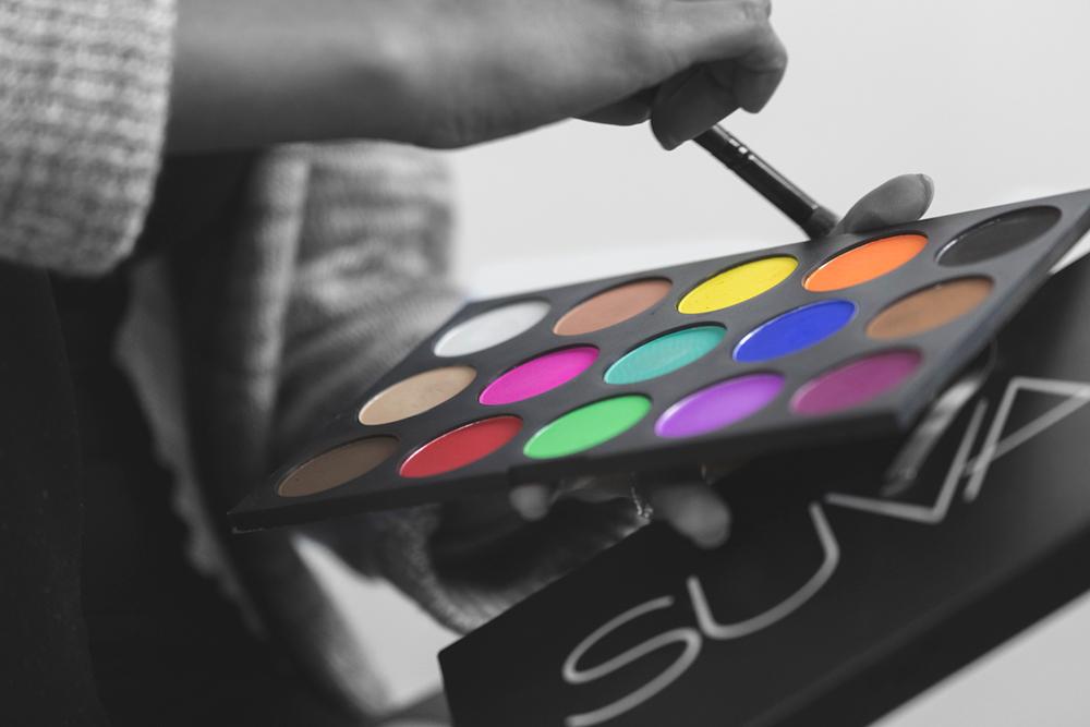 shaina azad top makeup artist suva makeup palette