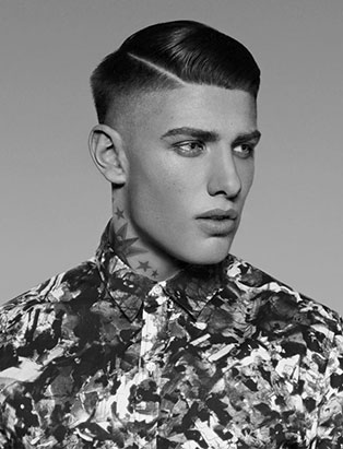 sandra perovic top hair graduate mens fade