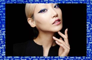 caitlyn dixon blue mascara makeup