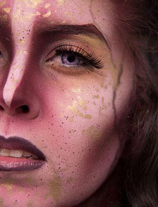 jennifer little airbrush elf bodypaint closeup