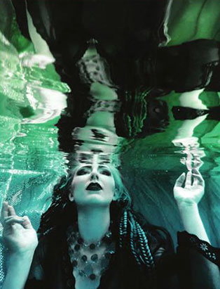 jennifer little underwater photoshoot water witch