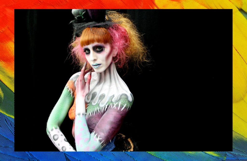 'A Little Artistry' Goes a Long Way – Q&A with Award-Winning Bodypaint Artist, BMC Makeup Graduate Jennifer Little