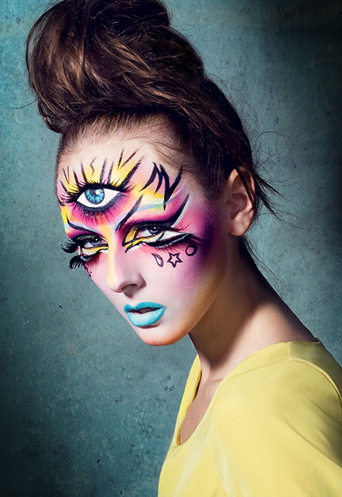 top makeup school graduate jenna kuchera bright third eye