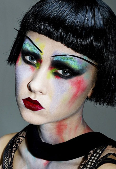 top makeup school graduate jenna kuchera pat mcgrath long brow