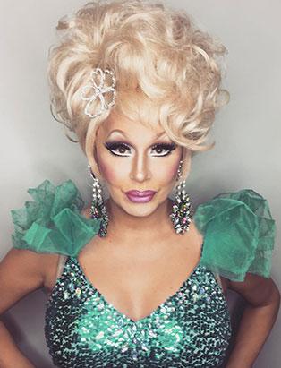 top makeup school graduate jaylene mcrae tyme drag queen blonde bombshell