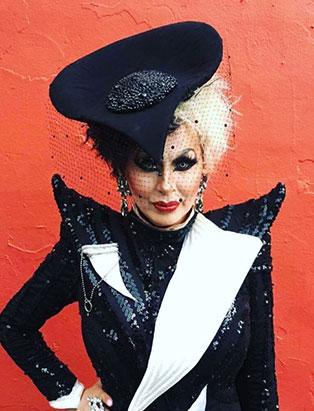 top makeup school graduate jaylene mcrae tyme drag queen as cruella