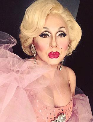 top makeup school graduate jaylene mcrae tyme drag queen marilyn pretty in pink