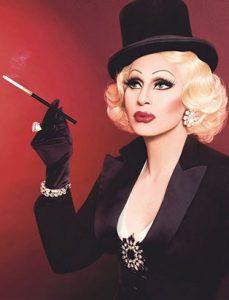 top makeup school graduate jaylene mcrae tyme drag queen as vintage glamour