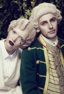 breianna neeser top makeup artist baroque editorial tear