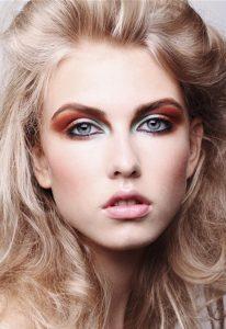 breianna neeser top makeup artist colourful makeup