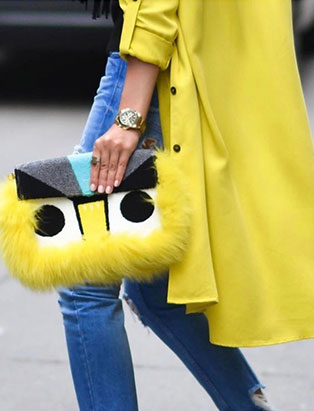 jessica clark bright yellow styling details