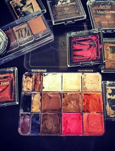 top makeup instructor bodypainter daemon cadman makeup kit