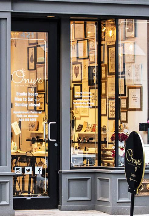 top nail school graduate linda trang ly onyx storefront