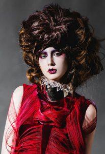daisy hsiang global makeup graduate headpiece fashion makeup