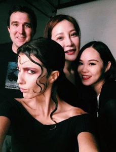 daisy hsiang global makeup graduate photoshoot team