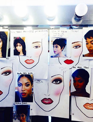 top makeup school instructor leah ehman biopic toni braxton facecharts